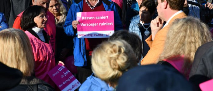 Demo in München-Pasing am 26. Oktober © Klaus Kubitza