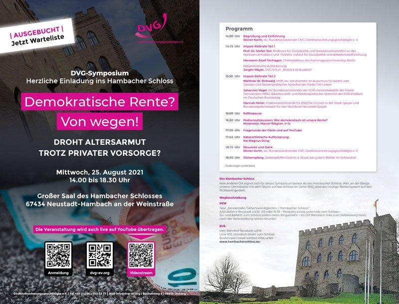 DVG-Symposium Programm